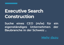 Expérience Executive Search Construction